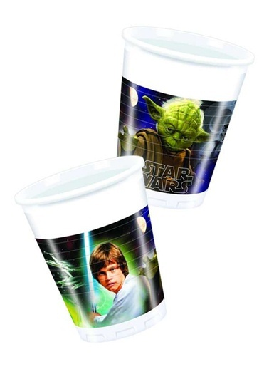 Star Wars & Heroes 8 li Bardak-Star Wars